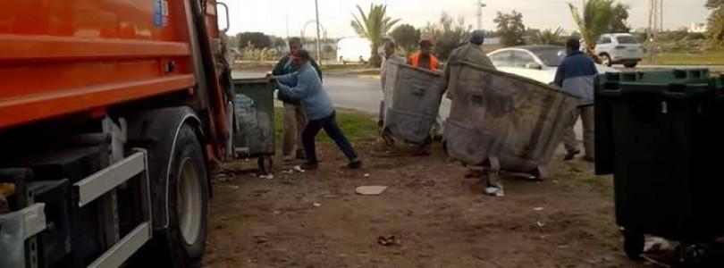 تركيز حاويات جديدة بعدة مناطق من بلدية المرسى