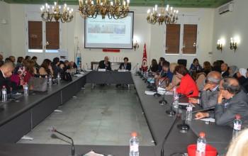 séminaire de lancement «Le gouvernement ouvert au niveau local en Tunisie» à la Municipalité de La Marsa