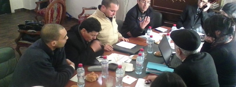 Suivi des activités  de AEI (Accord d'Entraide Intercommunal) à la commune de La Mannouba