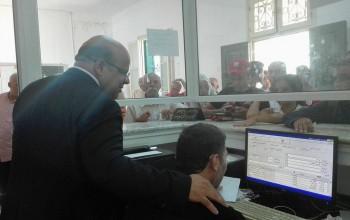 زيارة السيد المعتمد،رئيس النيابة الخصوصية لمصلحة الحالة المدينة