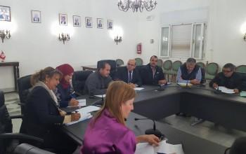 جلسة المجلس المحلّي للتنمية بقصر السعادة بالمرسى