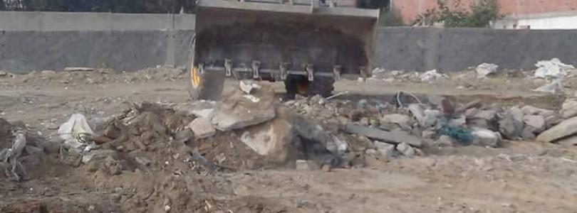 Action de propreté des terrains vagues de la Municipalité de la Marsa