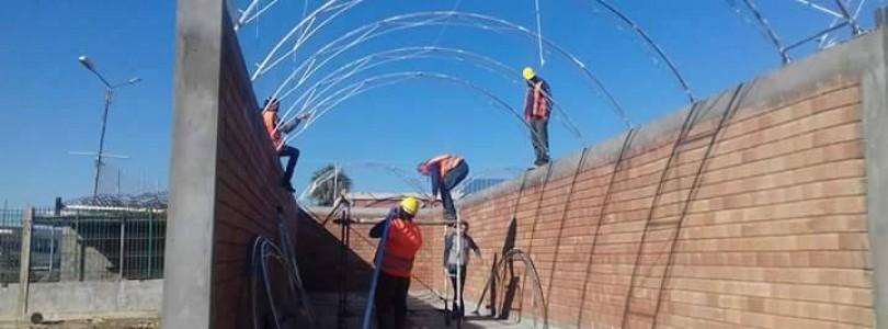 Avancement du projet de la construction d'une station de compostage à La Marsa
