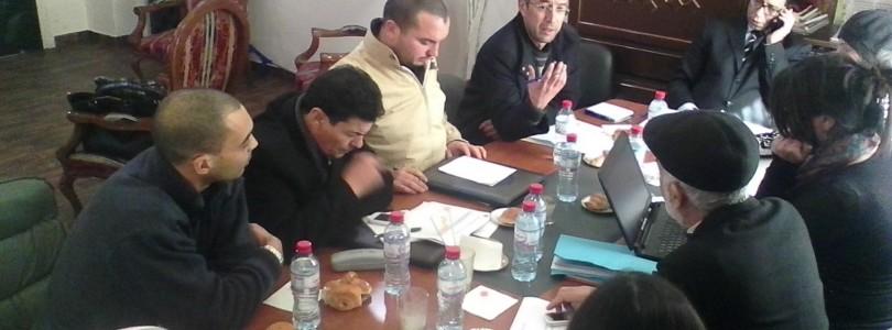 (متابعة نشاط شبكة الميزانية التشاركية للبلديات التونسية المتبنية لآلية الميزانية التشاركية (جلسة ببلدية منوبة
